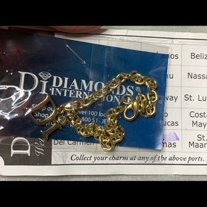 Diamonds International Jewelry - Diamonds International DI Gold Charm Bracelet Kit